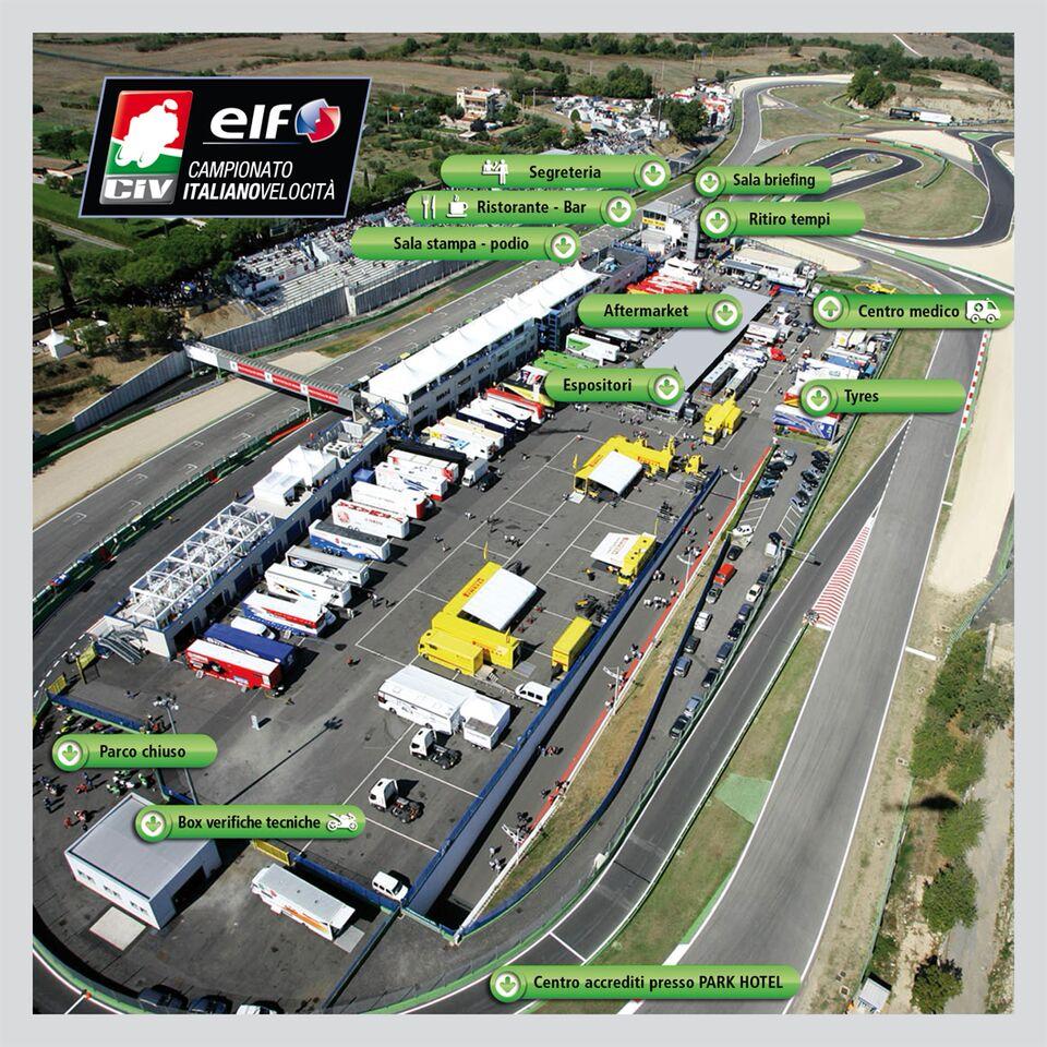 Circuito Vallelunga : Seconda prova del trofeo centro italia velocità a vallelunga